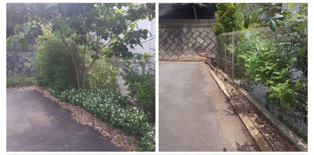 202105駐車場03|稲葉造園