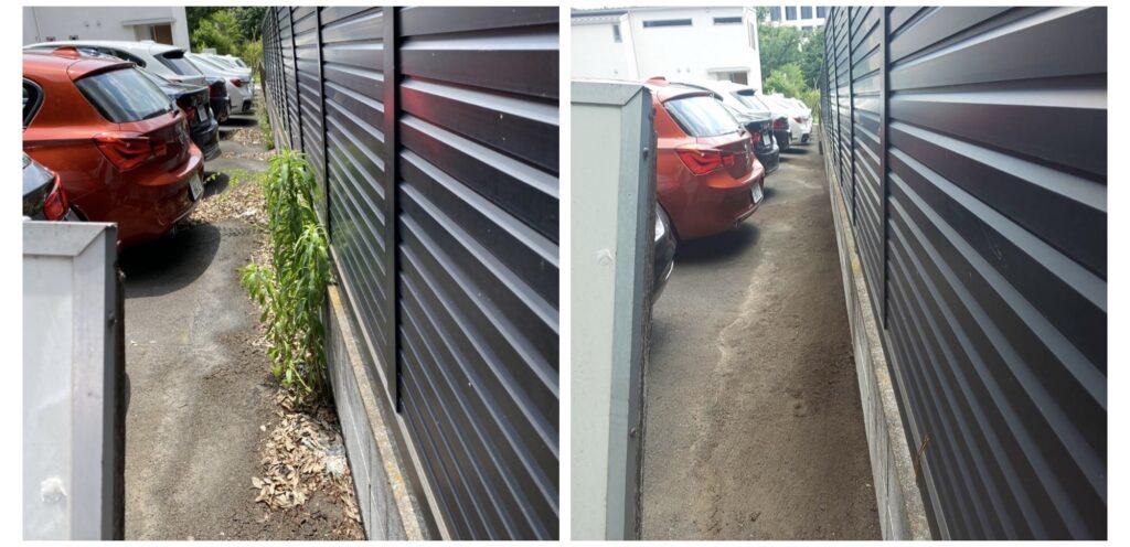 202105駐車場06|稲葉造園